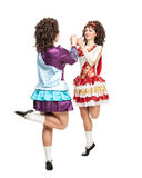 Danse d'Irlandais Image libre de droits