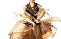 Danse d'Ouzbékistan photo libre de droits