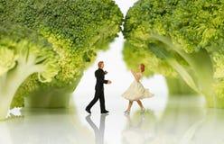 Danse dans la forêt Photo libre de droits