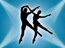 Danse dans la lumière Images libres de droits