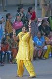 Danse dans la rue Photographie stock libre de droits