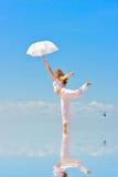 Danse dans le ciel Photo stock