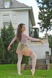 Danse dans le jardin Image libre de droits