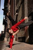 Danse dans les rues photo stock