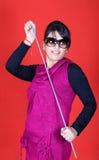 Danse de bâton Image stock