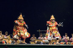 Danse de Balinese Photos libres de droits