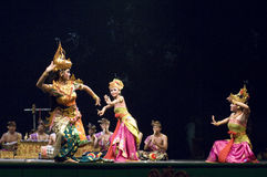 Danse de Balinese Photos stock