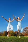 Danse de ballerines Photo stock