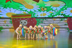 Danse de Barbell Images stock