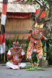 Danse de Barong sur Bali photographie stock