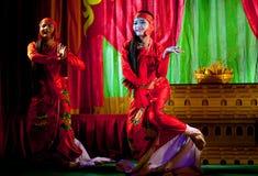 Danse de Birman Photographie stock libre de droits