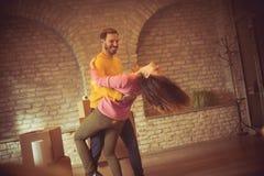 Danse de bonheur photos stock