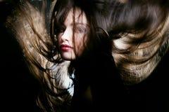 Danse de cheveu Image libre de droits