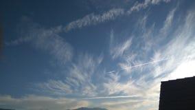 Danse de ciel images libres de droits