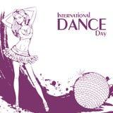 Danse de club de jour de danse Images stock