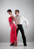 Danse de couples Photos libres de droits