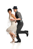 Danse de couples image stock