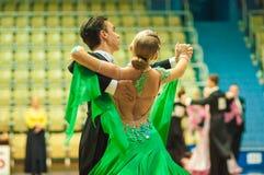 Danse de couples Images libres de droits
