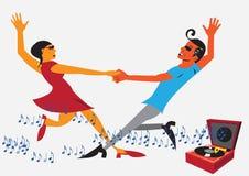 danse de couples Images stock