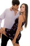 Danse de couples Image libre de droits