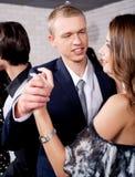 Danse de couples d'amour Images libres de droits