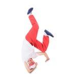 Danse de coupure de danse d'adolescent Images stock