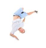 Danse de coupure de danse d'adolescent Photos libres de droits