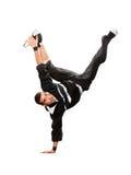 Danse de coupure de danse d'adolescent dans l'action Photo stock