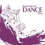 Danse de coupure de jour de danse Photographie stock