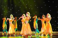 Danse de danse šCollective de ¼ d'Indiaï Images libres de droits