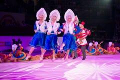 Danse de danseurs Image stock