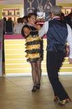 Danse de danseurs Regard de JUNWEX Moscou 2014 Images stock