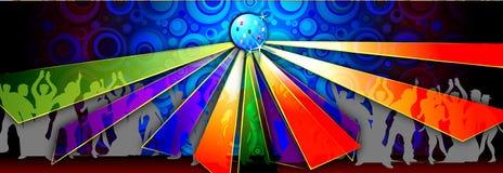 Danse de disco Images libres de droits