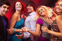 Danse de disco Photo libre de droits