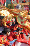 Danse de dragon Photo stock