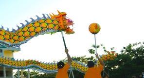Danse de dragon Photos stock
