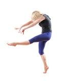 Danse de femme Photo stock