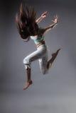 Danse de fille Photographie stock libre de droits