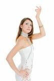 Danse de fille avec du charme Image libre de droits