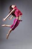 Danse de fille de beauté image libre de droits