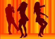 Danse de filles Photo stock