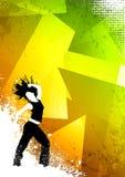 Danse de forme physique Photos libres de droits