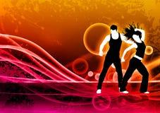 Danse de forme physique Photo stock