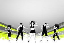 Danse de forme physique Photographie stock