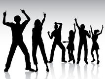 Danse de gens Photographie stock