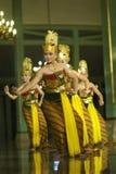 Danse de Javanese Image libre de droits