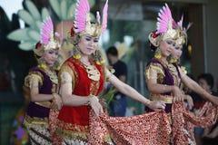 Danse de Javanese images stock