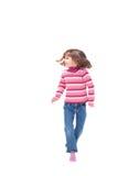 Danse de jeune fille Photos libres de droits