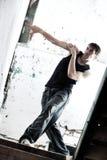 Danse de jeune homme Image libre de droits