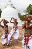 Danse de Kandyan dans Anuradhapura, Sri Lanka Photographie stock
